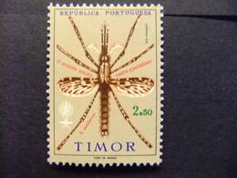 TIMOR 1962 Erradicación Del Paludismo Yvert 328 * MH - Timor