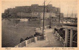 CPA NAPOLI - S. LUCIA E CASTEL DELL'OVO - Napoli (Naples)