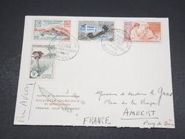 NOUVELLE CALÉDONIE - Enveloppe FDC De Nouméa Pour Ambert En 1960 - L 18569 - FDC