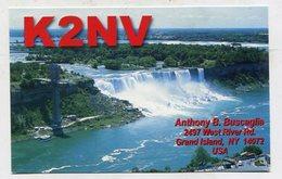 QSL Cards - AK 325408 USA - NY - Grand Island - Radio Amatoriale