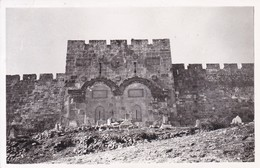 JERUSLEM: THE GOLDEN GATE. COP PHTO PJT. CIRCA 1950's. ISRAEL.-BLEUP - Israël
