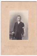 Ancienne Photo Portrait Enfant Brassard Communion (Petit Renaud, Nantes) - Personas Anónimos