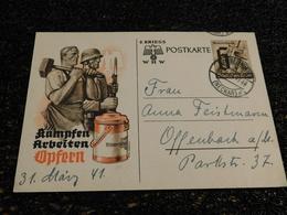Entier Postal, 1941 Deutch Reich  (Q5) - Duitsland