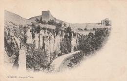 Carte Postale Ancienne De L'Isère - Crémieu - Gorge De Tortu - Vers 1900 - Crémieu