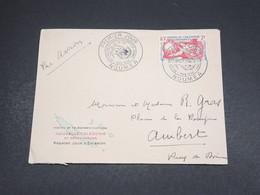 NOUVELLE CALÉDONIE - Enveloppe FDC  De Nouméa Pour La France En 1958 - L 18585 - FDC