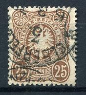 41434) DEUTSCHES REICH # 35 B Gestempelt GEPRÜFT Aus 1875, 130.- € - Deutschland