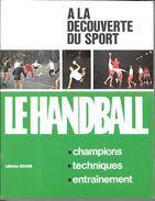 AF52 - LIVRET CHOCOLAT SUCHARD A LA DECOUVERTE DU SPORT - HANDBALL - Handball