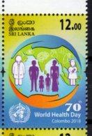 SRI LANKA, 2018, WORLD HEALTH DAY, 1v - Health