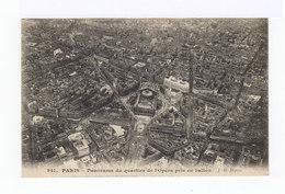 Panorama Vers Le Quartier De L'Opéra Pris En Ballon. (2928) - Multi-vues, Vues Panoramiques