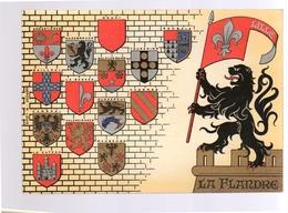 Heraldry, Héraldique La Flandre (double Card) (52-9) - Other