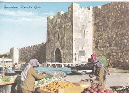 JERUSALEM. HEROD'S GATE. HOLY VIEWS LTD. PALPHOT. CIRCA 1979. ISRAEL.-BLEUP - Israël