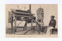 Paris. Observatoire De La Tour Saint Jacques. Avec Gardien. (2931) - Autres Monuments, édifices