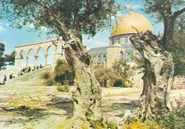 JERUSALEM. DOME OF THE ROCK. CIRCA 1980. ISRAEL.-BLEUP - Israël