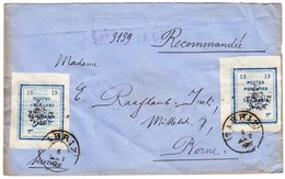 1906 R-Brief Aus Tabriz Nach Bern - Iran
