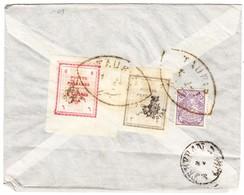 Brief Aus Tauris über Teheran Nach Sultanabad - Iran