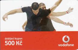 Czech Republic, Vodafone Voucher 500 Kč, - Tchéquie
