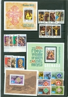 Grenada Grenadines Easter Michelangelo Scouting Set Souvenir Sheet Block MNH WYSIWYG 1975 A04s - Grenada (1974-...)