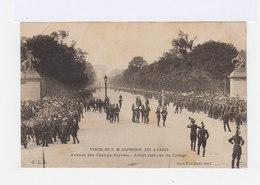Paris. Visite De S.M. Alphonse XIII. Avenue Des Champs Elysées. Avant L'arrivée Du Cortège. (2935) - Champs-Elysées