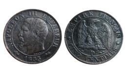 5 Centimes NAPOLÉON III 1855 D (Lyon) Tête Nue Ancre A VOIR!!! - C. 5 Centimes