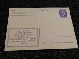 Entier Postal, Deutch Reich, Timbre Hitler    (R5) - Duitsland