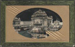 Night Scene, Imperial International Exhibition, London, 1909 - Valentine's Postcard - Exhibitions