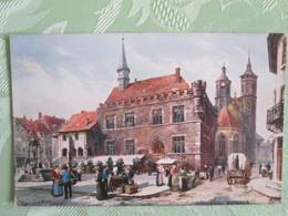 Goettingen  . Charles F . Flower . Oilette - Goettingen