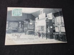 * EXPOSITION INTERNATIONALE D AMIENS 1906 - PALAIS DE L ENSEIGNEMENTS INTERIEUR - Amiens