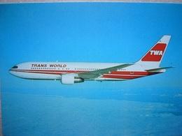 Avion / Airplane / TWA / Boeing B 767 / Airline Issue - 1946-....: Ere Moderne
