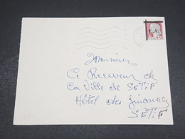 ALGÉRIE - Enveloppe De Sétif Pour Sétif En 1962 , Affranchissement Decaris Surchargé EA - L 18604 - Algérie (1962-...)