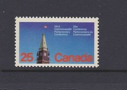 Canada 1977 - One 23rd Commonwealth Parliamentary Conference Architecture Tower Stamp MNH SG#894 - Other