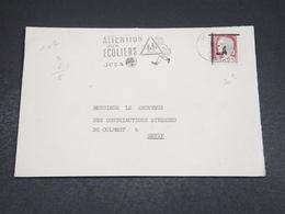 ALGÉRIE - Enveloppe De Sétif Pour Sétif En 1962 , Affranchissement Decaris Surchargé EA - L 18606 - Algeria (1962-...)