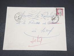 ALGÉRIE - Enveloppe De Sétif Pour Sétif En 1962 , Affranchissement Decaris Surchargé EA - L 18608 - Algeria (1962-...)