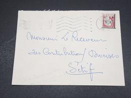 ALGÉRIE - Enveloppe De Sétif Pour Sétif En 1962 , Affranchissement Decaris Surchargé EA - L 18609 - Algérie (1962-...)