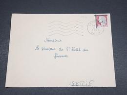 ALGÉRIE - Enveloppe De Sétif Pour Sétif En 1962 , Affranchissement Decaris Surchargé EA - L 18611 - Algeria (1962-...)