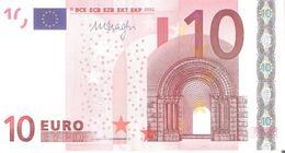 EURO . 10 Euro 2002 Draghi P016  C5 X Germany -  - - EURO