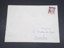 ALGÉRIE - Enveloppe De Sétif Pour Constantine En 1962 , Affranchissement Decaris Surchargé EA - L 18613 - Algérie (1962-...)