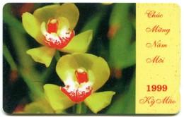 Vietnam Uniphonekad - 5MVSB Lunar New Year - Orchids (Normal Zero) - Vietnam