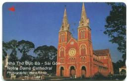 Vietnam Uniphonekad - 7UPVC Notre Dame Cathedral (Normal Zero) - Vietnam
