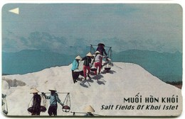 Vietnam Uniphonekad - 97MVSB Salt Field Of Khoi Islet (Dashed Zero) - Vietnam