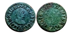 Beau Denier Tournois LOUIS XIII 1611 A (Paris) A VOIR!!! - 1610-1643 Louis XIII Le Juste