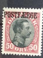 DANEMARK 1919-22 Y&T N° 119 * SURCHARGE COTE 300 EUROS - 1913-47 (Christian X)