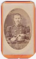 Ancienne Photo Portrait Format CDV Homme Militaire (A.D. Margerie, Angers) - Persone Anonimi