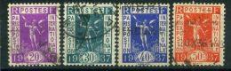 FRANCE ( POSTE ) : Y&T  N°  322/325 , TIMBRES  BIEN  OBLITERES . - France