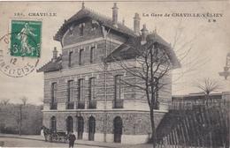 CPA N°159 Dept 92 CHAVILLE La Gare De Chaville Velizy - Chaville