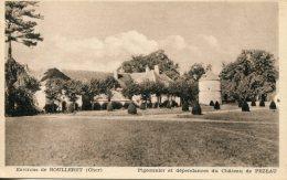 CPA -  BOULLERET (ENV.) - PIGEONNIER ET DEPENDANCES DU CHATEAU DE PEZEAU - Frankreich