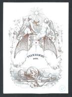 +++ CPA - Carte Porcelaine - Porcelein Kaart - P.Van Damme - BODE   // - Cartes Porcelaine