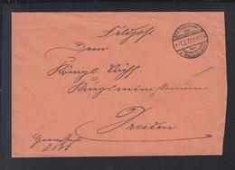 Dt. Reich Besetzung Rumänien Romania Feldpost OKW Heeres-Gruppe V. Mackensen 1917 - Lettres 1ère Guerre Mondiale
