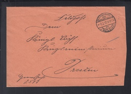 Dt. Reich Besetzung Rumänien Romania Feldpost OKW Heeres-Gruppe V. Mackensen 1917 - Cartas De La Primera Guerra Mundial