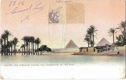 Cairo, The Pyramids During The Inundation Of The Nile - Cairo