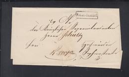 Falthülle Kgl. Preuss. Gericht Franco Stadtbrief - Preussen